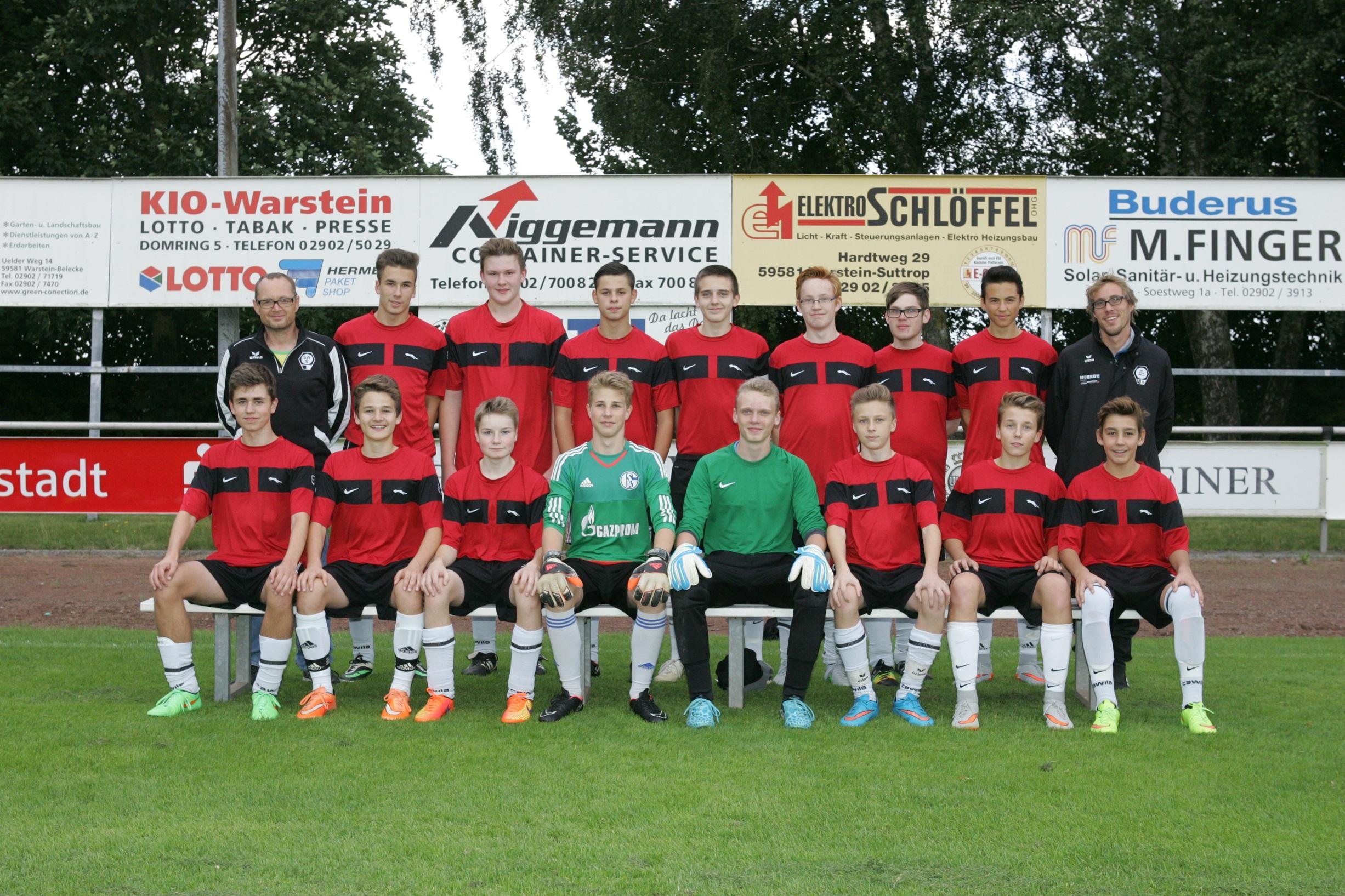 B-Jugend SWS_Saison 2015_2016