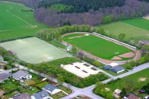 Luftaufnahme Hardtstadion
